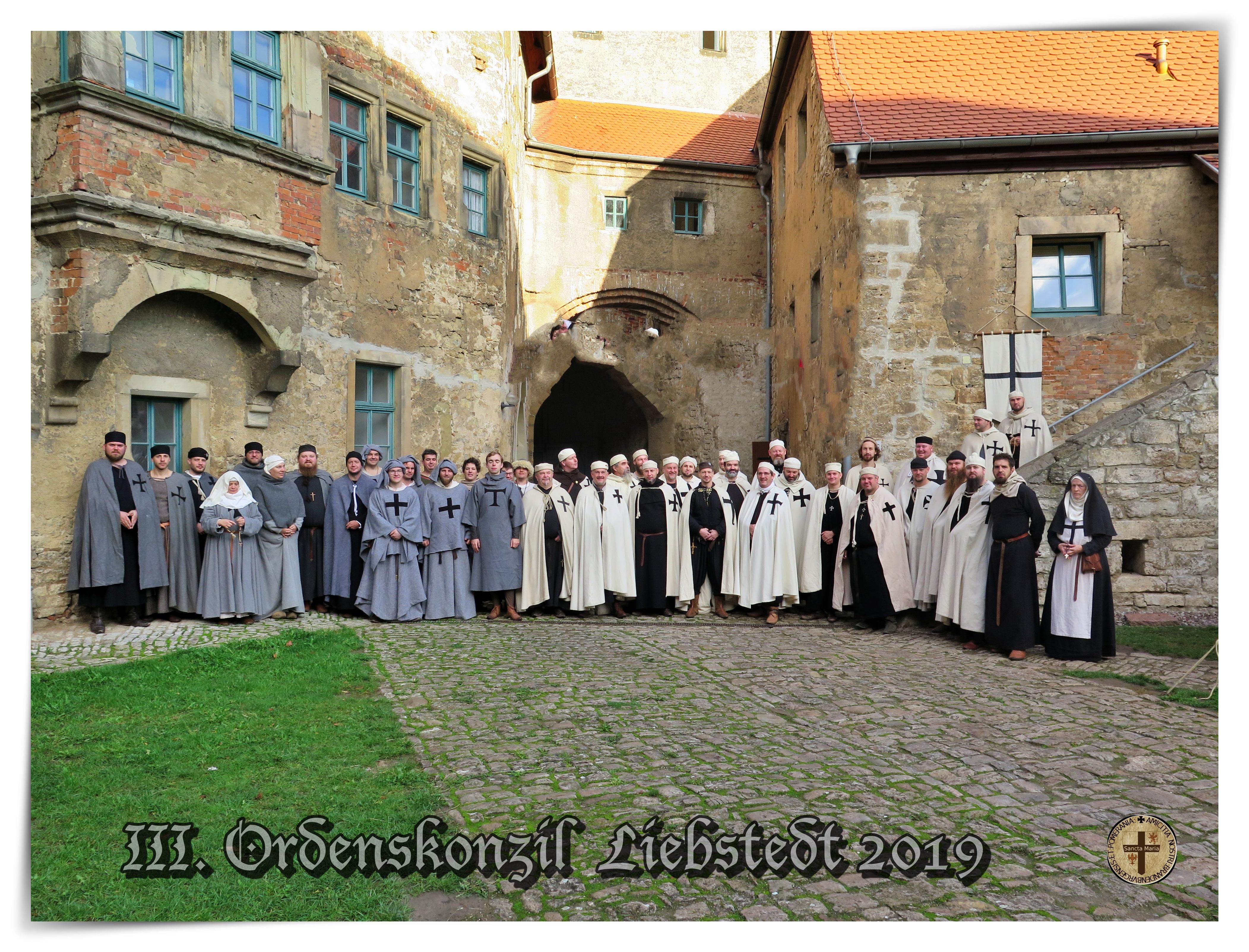 III. Ordenskonzil  Burg Liebstedt