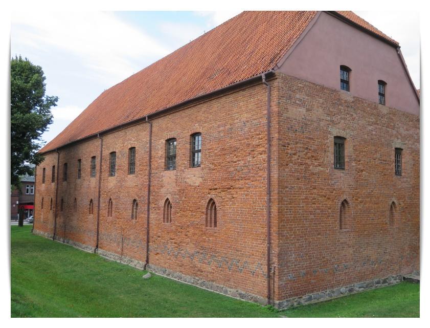 Burgen im Ordensland Preussen- Teil 2  Osterode Komturei