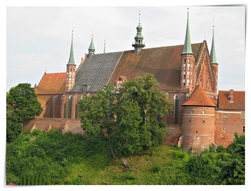 Burgen im Ordensland -Preussen Teil 1 Frauenburg
