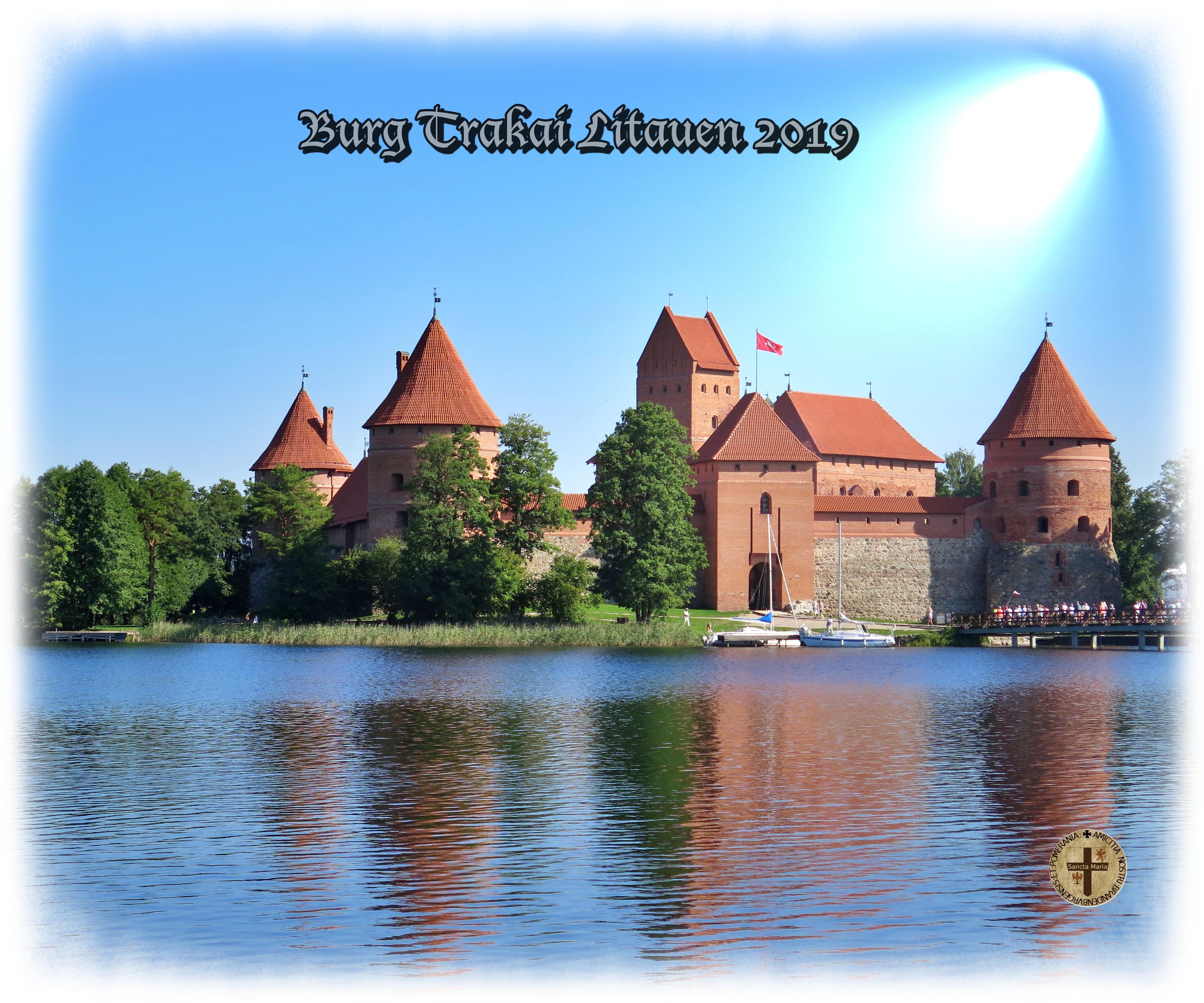 Burg Trakai- Berg der Kreuze Litauen